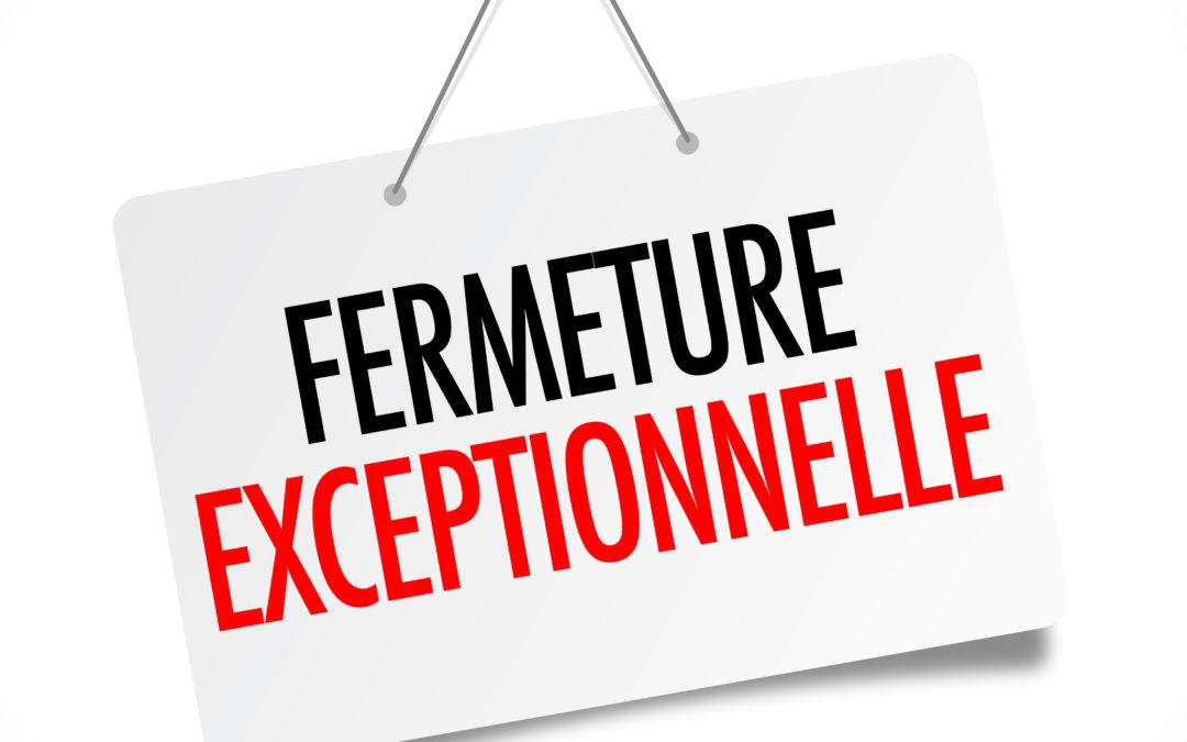 Fermeture de Quimper et Châteaulin à 16h ce jour.