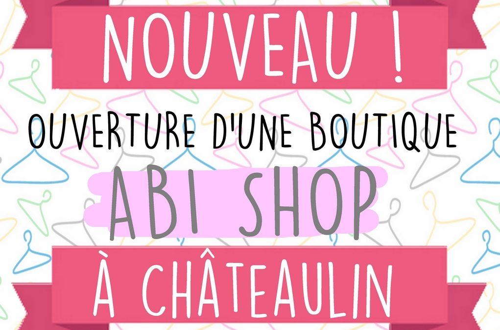 Nouvelle boutique Abi Shop !