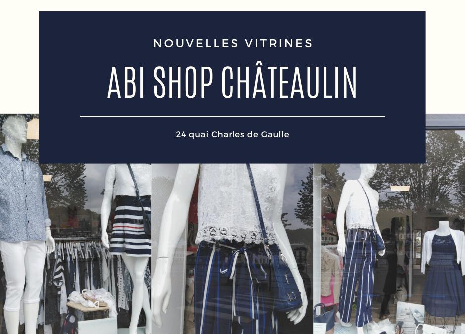 Châteaulin : nouvelles vitrines !